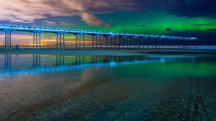 Foto Sian Louise Gordon desde Saltburn-by-the-Sea, Inglaterra