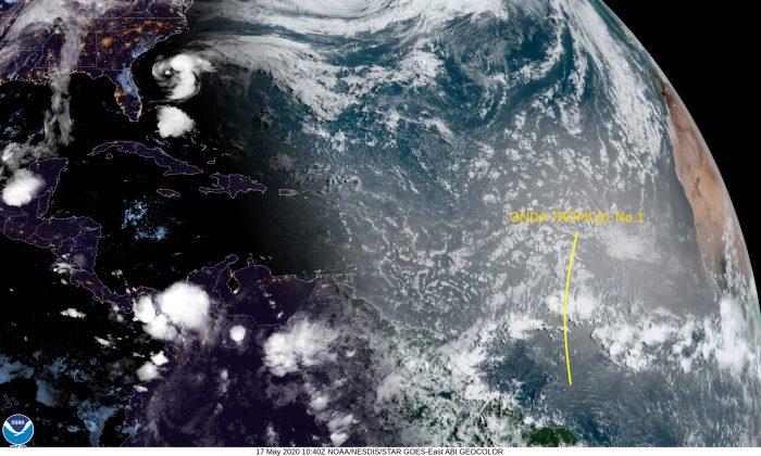 Se ha formado la primera onda tropical de la temporada 2020 ¿Cómo nos afectan estos sistemas meteorológicos?