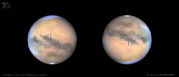 Prepárate! La Tierra y Marte están a punto de tener un encuentro cercano, uno de los mejores desde 2003