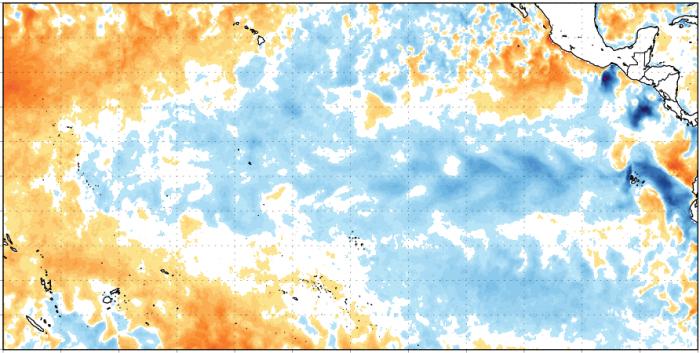 El fenómeno La Niña continúa! Y es muy probable una transición a ENOS-neutral (sin El Niño ni La Niña) durante el próximo mes de mayo